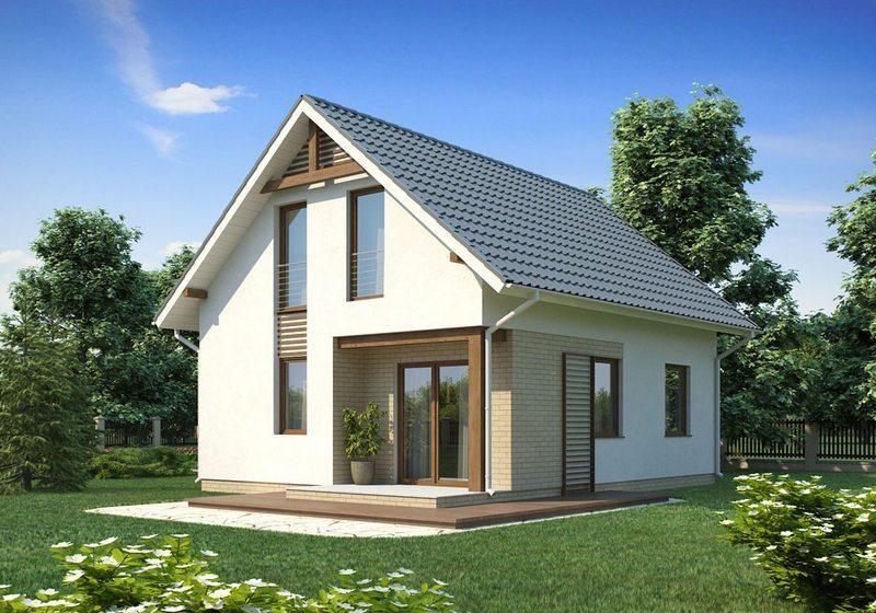 проекты частных домов из пеноблоков