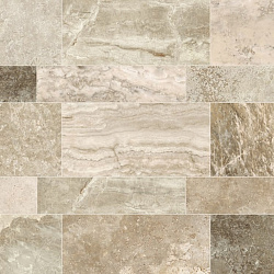 Керамогранит Travertino Cream Stone MIX, 22,5x90